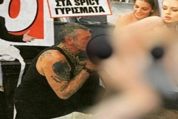 MasterSex: Οι πρώτες φωτογραφίες του Διονύση Πρώιου από τα γυρίσματα της πορνό ταινίας του Σειρηνάκη!