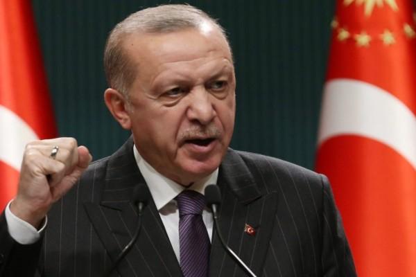 Ερντογάν: «Θα γ@@... τις μάνες του ΝΑΤΟ, της Ευρώπης και του Ισραήλ»