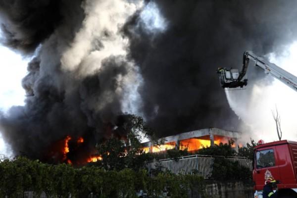 Φωτιά στον Πύργο - «Καμπανάκι» για 18 περιοχές της Αττικής