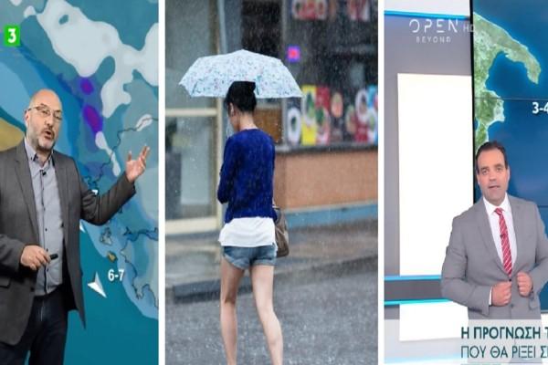 Καιρός: Βροχές και καταιγίδες «πνίγουν» τη χώρα σήμερα Σάββατο 12 Ιουνίου - «Kαμπανάκι» από Αρναούτογλου-Μαρουσάκη και οι περιοχές που κινδυνεύουν