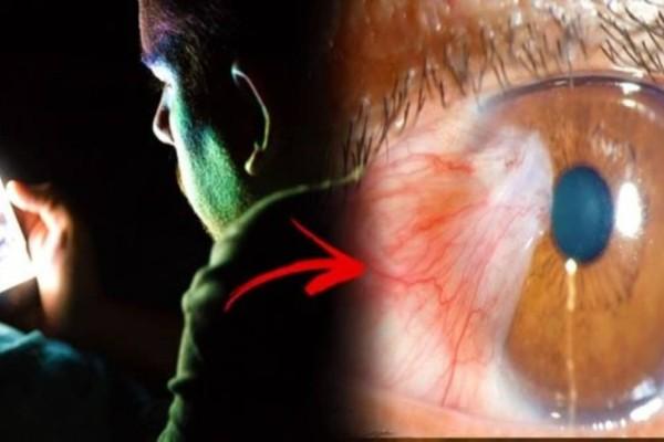 Εμφάνισε καρκίνο στα μάτια εξαιτίας μιας συνήθειας που έχουμε όλοι - Δείτε τι πρέπει να προσέξετε στο κινητό σας