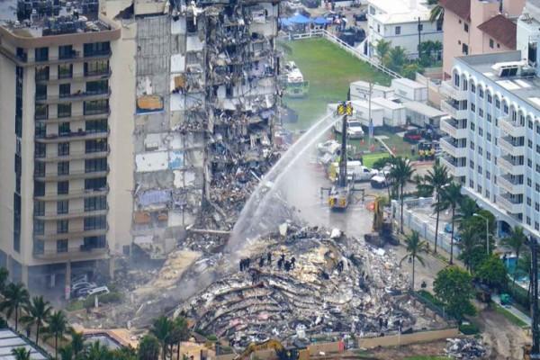 Μαϊάμι: Στους 9 οι νεκροί από την κατάρρευση της πολυκατοικίας - Αγωνία για τον  Ανδρέα Γιαννιτσόπουλο