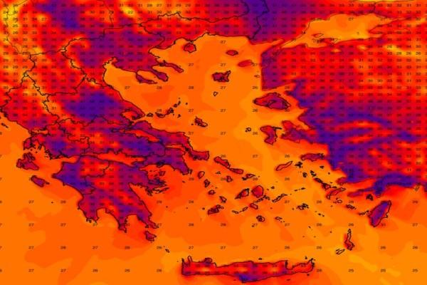 Καιρός σήμερα: Ο καύσωνας πατάει γκάζι! Κορύφωση του κύματος ζέστης, προειδοποιεί ο Σάκης Αρναούτογλου!