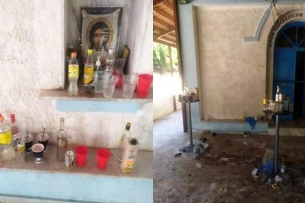 Ντροπή: Παρεκκλήσι μετατράπηκε σε μπαρ -  Διασκέδαση με ποτό και μουσική μέχρι πρωίας σε κορωνοπάρτι ασυνείδητων