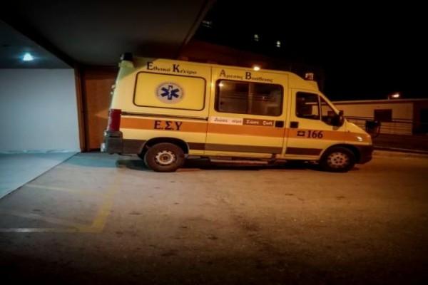 Λάρισα: Ακρωτηριάστηκε υπάλληλος φούρνου - Σύγκρουση ΙΧ με μηχανάκι, στο νοσοκομείο γυναίκα τραυματίας