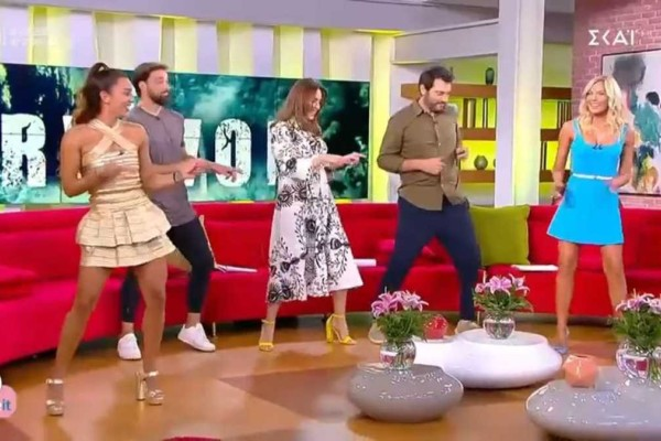 «Διπλή» κόλαση στον αέρα: Μαλέσκου-Καρολίνα χορεύουν και προκαλούν... καύσωνα!