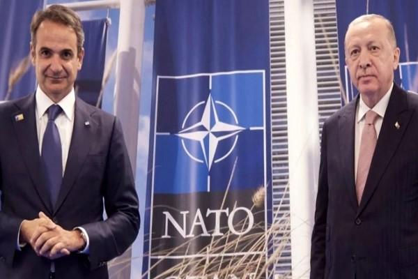 Μητσοτάκης: «Οι διαφορές ανάμεσα σε Ελλάδα και Τουρκία παραμένουν» - Τι είπαν Ερντογάν και Τσίπρας με αφορμή τη Σύνοδο του ΝΑΤΟ