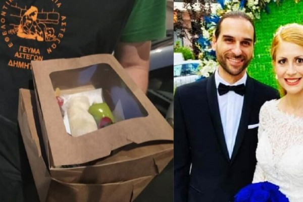 Νιόπαντρο ζευγάρι στη Θεσσαλονίκη μοίρασε γεύματα σε άστεγους αντί να κάνει γαμήλιο γλέντι! (video)