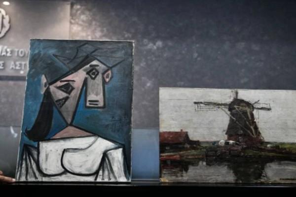 Αυτοί είναι οι κλεμμένοι πίνακες της Εθνικής Πινακοθήκης: 49χρονος από το Πόρτο Ράφτη ο δράστης