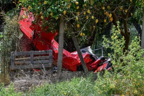Ηλεία-Αεροσκάφος: Κλιμάκιο της Πολιτικής Αεροπορίας στον τόπο της τραγωδίας