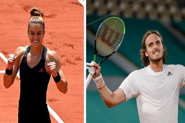 Μαρία Σάκκαρη και Στέφανος Τσιτσιπάς: Ποια είναι τα δύο «διαμάντια» του παγκόσμιου τένις που σαρώνουν στο Roland Garros