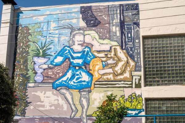 Street art: Δημιουργίες καλλιτεχνών «ντύνουν» τέσσερα σχολεία της Αθήνας
