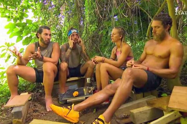 Survivor 4: «Ξέσπασε» κατά Σάκη και Μαριαλένας ο Ασημακόπουλος - «Αυτή δεν ήταν που έκλαιγε;»