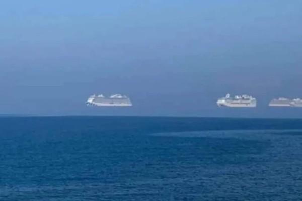 Φαινόμενο Μοργκάνα: Πλοία