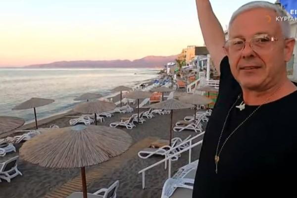 Εικόνες: Ο Τάσος Δούσης μας ξεναγεί στο όμορφο Ηράκλειο! Μην χάσετε το δεύτερο μέρος