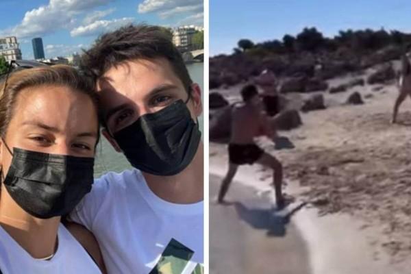 Μητσοτάκης - Σάκκαρη: Ζουν τον έρωτά τους παίζοντας ρακέτες στην παραλία!