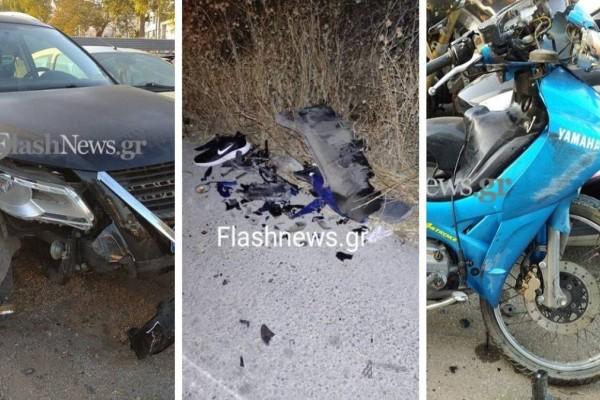 Τραγωδία στη Κρήτη: Νεκρός 18χρονος οδηγός μηχανής! Σφήνωσε κάτω από ΙΧ και σερνόταν για αρκετά μέτρα