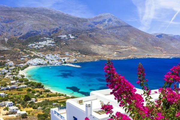 Η φωτογραφία της ημέρας: Σαββατοκύριακο στην Αμοργό! Το ανατολικότερο νησί των Κυκλάδων με το απέραντο γαλάζιο