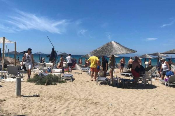 Dust Devil: Τι είναι το φαινόμενο που έπληξε την Χαλκιδική - Τρεις οι τραυματίες