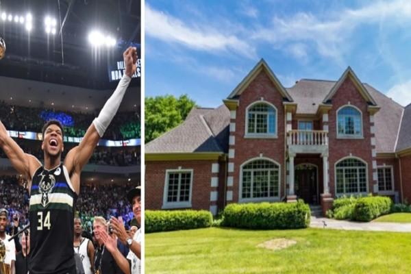Γιάννης Αντετοκούνμπο: Από τα Σεπόλια στο «παλάτι» αξίας 1.800.000 δολαρίων του Έλληνα πρωταθλητή του NBA - «Κάηκε» το Μιλγουόκι για τους Μπακς