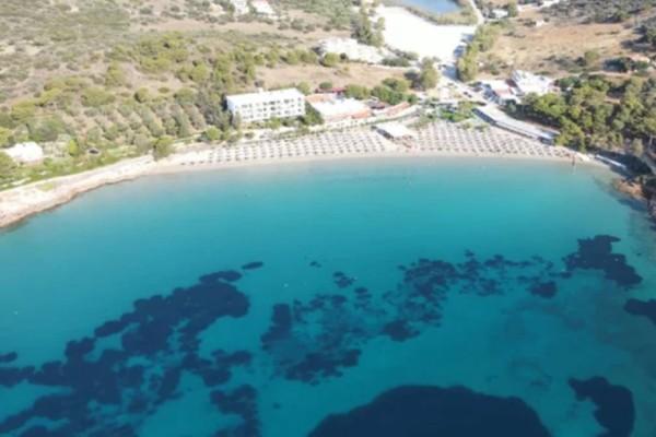 Αυλάκι: Η κορυφαία παραλία της Αττικής είναι στο Πόρτο Ράφτη και κάθε Σαββατοκύριακο δεν βρίσκεις να κάτσεις