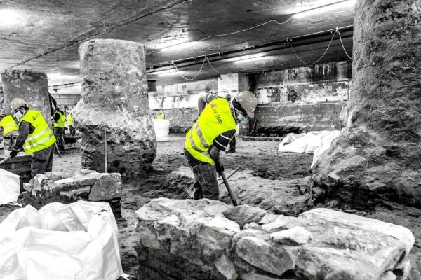 Ξηλώνουν τα αρχαία στο σταθμό Βενιζέλου! – Μυλόπουλος: «Οι σύγχρονοι Έλγιν έπιασαν δουλειά»