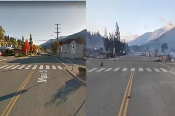 Καναδάς: Πόλη καταστράφηκε από πυρκαγιές εξαιτίας του καύσωνα - Η θερμοκρασία είχε φτάσει του 49,6 βαθμούς