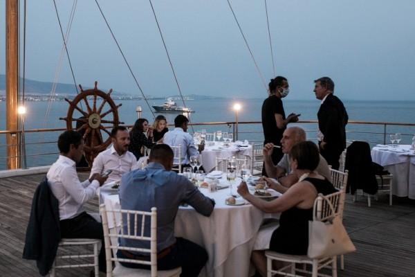 Δείπνο της Ελληνικής Ιστιοπλοικής Ομοσπονδίας στην Ολυμπιακή Ομάδα Ιστιοπλοίας του Τόκιο 2021