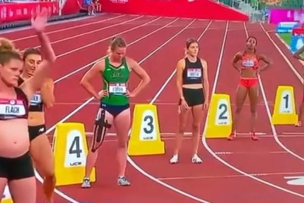 Εγκυος πέντε μηνών έτρεξε για τα προκριματικά των Ολυμπιακών με την κοιλιά στο στόμα - Το μήνυμα που ήθελε να περάσει(Βίντεο)