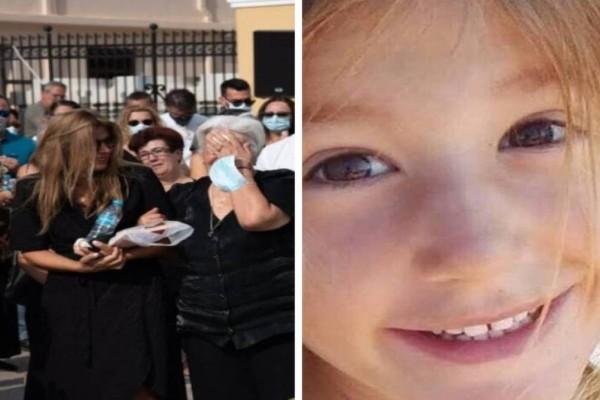 Έρρικα Πρεζεράκου: Μαυροφορεμένη στη κηδεία της μικρής Αναστασίας!