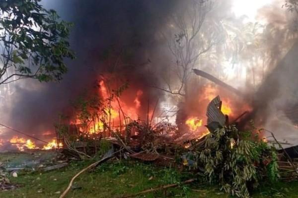 Φιλιππίνες: Στους 29 οι νεκροί από τη συντριβή στρατιωτικού αεροσκάφους- 17 άνθρωποι αγνοούνται