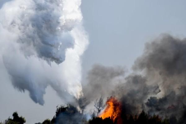 Φωτιά στο Ναύπλιο