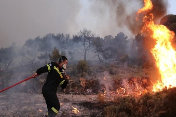 Φωτιά στην Πάτρα: Εκκενώνεται ο οικισμός Σούλι - Καίγονται σπίτια