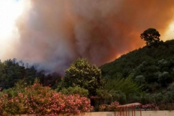 Φωτιά στην Χαλκιδική - Ποιες περιοχές της χώρας κινδυνεύουν περισσότερο