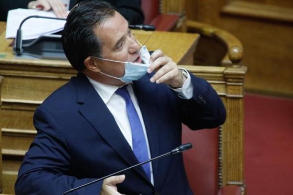 Άδωνις Γεωργιάδης: «Ενδέχεται να απαγορευτεί η είσοδος ανεμβολίαστων στο λιανεμπόριο» - Το μήνυμα-απάντηση Μητσοτάκη