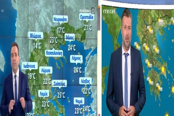 Αλλάζει σήμερα 23/7 ο καιρός: Σε ποιες περιοχές υπάρχει πιθανότητα συννεφιάς και βροχοπτώσεων - Η πρόγνωση του Καλλιάνου και το καμπανάκι Μαρουσάκη για πυρκαγιές