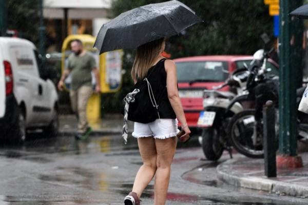 Κακοκαιρία από Δευτέρα (05/07): Σε περιοχές θα βρέξει;