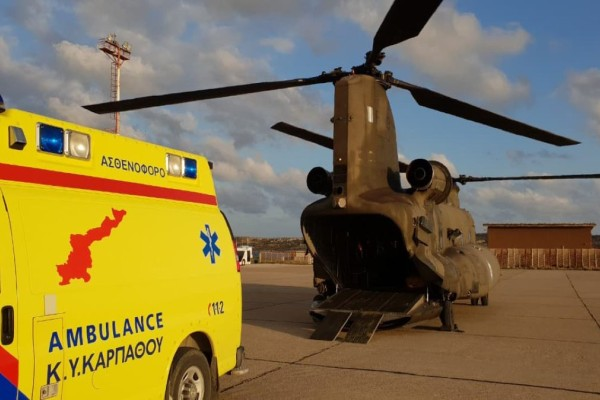 Επιχείρηση αεροδιακομιδής ασθενών με κορωνοϊό από Πάρο και Μύκονο