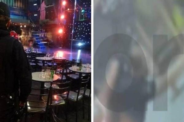 Αστυνομικοί πήγαν για έλεγχο σε μαγαζί και τους επιτέθηκαν με καρέκλες - Βίντεο ντοκουμέντο από τον Βόλο