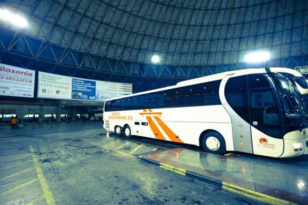 Τρόμος σε λεωφορείο στην Καβάλα - Γυναίκα μαχαίρωσε τον άνδρα που καθόταν δίπλα της