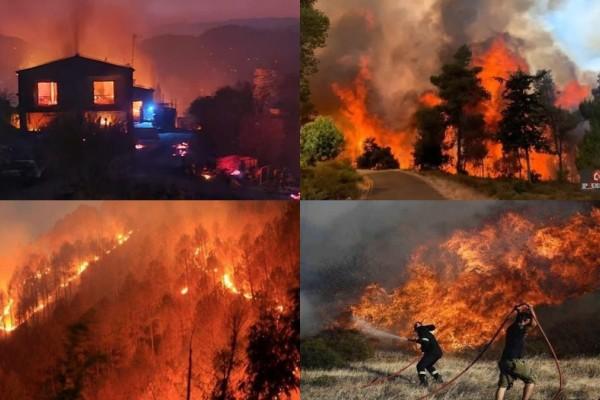 Κύπρος: Τέσσερις νεκροί από τη μεγάλη φωτιά - Η κατάσταση παραμένει δύσκολη - Συνελήφθη και ανακρίνεται 67χρονος