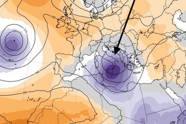 Η Ψυχρή Λίμνη «χτύπησε» τη Θεσσαλία και σαρώνει την ηπειρωτική Ελλάδα - Ποιες περιοχές θα βρεθούν στο στόχαστρο σήμερα;