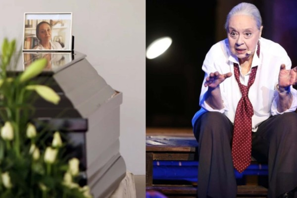 Μάγια Λυμπεροπούλου: Θλίψη στην κηδεία της ηθοποιού - Στις 15:00 η αποτέφρωση της ηθοποιού