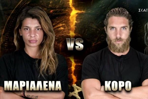 Survivor spoiler 02/07: Ποιος προηγείται στην ψηφοφορία; Μαριαλένα ή Κόρο;