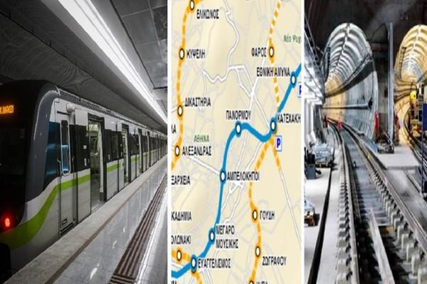 Μετρό: Επεκτείνεται προς Γλυφάδα, Καλλιθέα, Ίλιον, Πετρούπολη και Εθνική Οδό - Αυτοί θα είναι οι 15 σταθμοί της Γραμμής 4