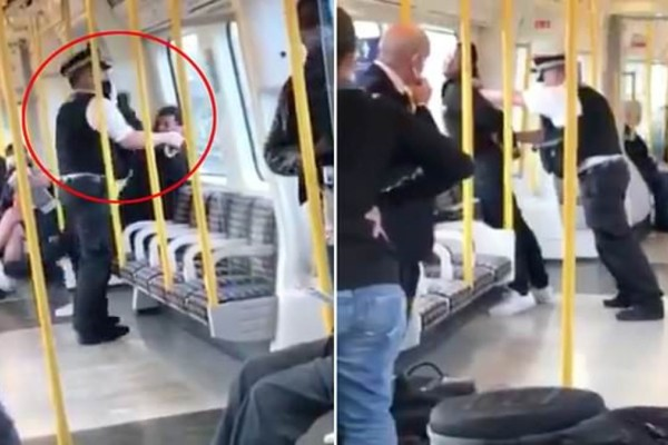 Μετρό Λονδίνου: Επιβάτης έριξε μπουνιά σε αστυνομικό που του έκανε παρατήρηση για μάσκα