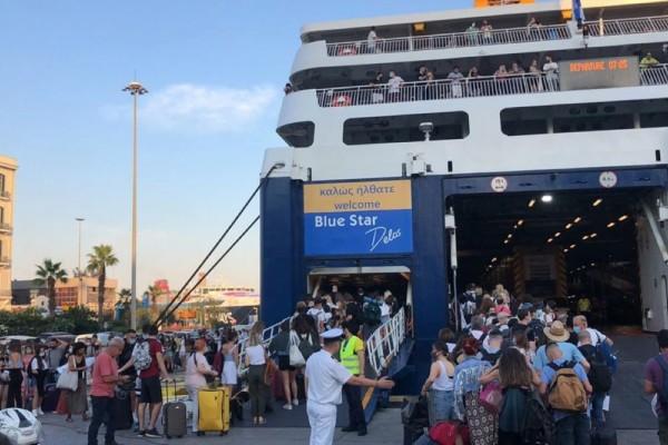 Ουρές στο λιμάνι του Πειραιά και αυξημένο κόστος ταξιδίου λόγω των νέων μέτρων - Αρκετά παράπονα από ταξιδιώτες