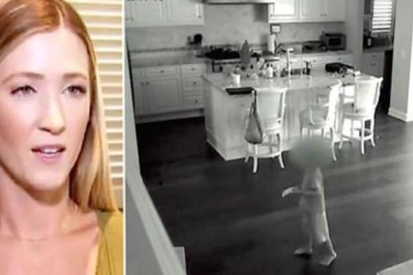 Όταν η νταντά μπήκε στο σπίτι κατάλαβε πως υπήρχε κάποιος μέσα. Αυτό που κατέγραψε η κάμερα ασφαλείας θα σας κόψει την ανάσα!