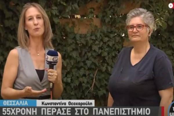 Παναγιώτα Βασιλοπούλου: Φοιτήτρια ετών 55, πέρασε στην ίδια σχολή με την κόρη της στις Πανελλαδικές!