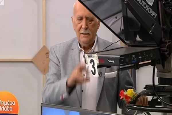 Γιώργος Παπαδάκης: «Λύγισε» στην τελευταία εκπομπή - Η πιο δύσκολη και επίπονη στιγμή στη φετινή σεζόν (Video)